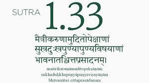 Yoga Sutra 1 33 The Four Great Attitudes
